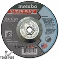 "Metabo 655799000 9"" x 1/16"" Slicer Plus Metal Cut Wheel w/ 5/8""-11 Hub"