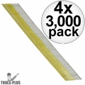 "Metabo-HPT 14308HPT 2-1/2"" Angled 15 Gauge Bright Finish Nails 4x"