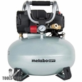 Metabo-HPT EC710SM 6 Gallon 1 HP Oil Free Pancake Compressor - 2.8CFM