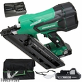 "Metabo-HPT NR1890DCM 2"" to 3-1/2"" 18V Cordless Paper Strip Framing Nailer"