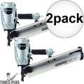 "Metabo-HPT NR90AES1M 2"" - 3-1/2"" 21 Deg. Full Round Head Framing Nailer 2x"