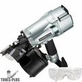 "Metabo-HPT NV83A5M 3-1/4"" Full Head Construction Coil Nailer 16 Deg"