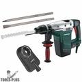 "Metabo KHE56 1-3/4"" SDS-max Rotary Hammer w/Dust Accessory+2 Chisels"