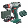 "Metabo US602217620 18V Quick 3/8"" Drill/Driver 2.0Ah Batts + Charger"