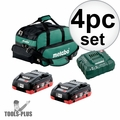 Metabo US625367002 4.0AH Ultra-M Compact Starter Kit