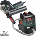 "Metabo W12-125HDTUCK 4-1/2-5"" Tuck Point Grinder + HEPA Vacuum Kit"