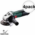 "Metabo W9-115 8.5 Amp 4-1/2"" Angle Grinder with Lock-On Sliding Switch 4x"
