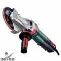 "Metabo WEPBF15-150 13.5A 6"" Flat Head Grinder w/Paddle & Brake"