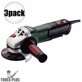 "Metabo WP9-115 Quick 4-1/2"" 8 AMP Angle Grinder w/ Non-Locking Paddle 3x"