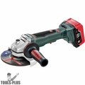 "Metabo 613076640 18V LTX 8Ah Li-Ion 6"" Angle Grinder Brushless Kit"