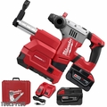 """Milwaukee 0757-22DE M28 FUEL 1-1/8"""" SDS Plus Rotary Hammer w/ Dust Extractor"""