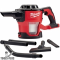 Milwaukee 0882-20 M18 Compact Vacuum (Tool Only) with HEPA Filter