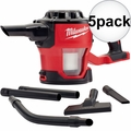 Milwaukee 0882-20 M18 Compact Vacuum (Tool Only) with HEPA Filter 5x