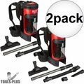 Milwaukee 0885-20 M18 FUEL 3-in-1 Backpack Vacuum (Tool Only) 2x