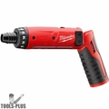 """Milwaukee 2101-80 M4 4V 1/4"""" Hex Screwdriver (Tool Only)"""