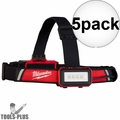 Milwaukee 2115-21 5x USB Rechargeable Low-Profile Headlamp Kit