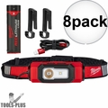 Milwaukee 2116-21 8x USB Rechargeable BEACON Hard Hat Light