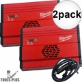 Milwaukee 23-37-0010 Power Inverter 120v AC Out 150W - 300w Peak/Spike 2x