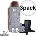 Milwaukee 23-66-1780 Service Switch Assembly replaces 23-66-1779 3x