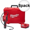 Milwaukee 2315-21 M12 M-Spector Flex 3' Inspection Camera w/Batt+Charger 8x