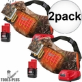 Milwaukee 2321-21 M12 Realtree Camo Heated Hand Warmer w/Batt+Charger 2x