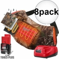Milwaukee 2321-21 M12 Realtree Camo Heated Hand Warmer w/Batt+Charger 8x