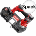 Milwaukee 2429-20 M12 Cordless Sub-Compact Band Saw (Tool Only) 3x