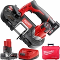 Milwaukee 2429-21XC 12V M12 Cordless Sub-Compact Band Saw 2 batt w/ 1x 6.0ah