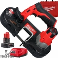 Milwaukee 2429-21XC M12 Cordless Sub-Compact Band Saw 3.0 Ah Kit