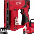 "Milwaukee 2447-21 M12 3/8"" Cordless Crown Stapler Kit"