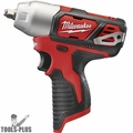 "Milwaukee 2463-80 M12 3/8"" Impact Wrench with Hog Ring (Tool Only)"