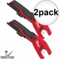 Milwaukee 2471-20 M12 12V Cordless Copper Tubing Cutter (Tool Only) 2x