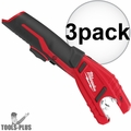 Milwaukee 2471-20 M12 12V Cordless Copper Tubing Cutter (Tool Only) 3x