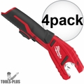 Milwaukee 2471-20 M12 12V Cordless Copper Tubing Cutter (Tool Only) 4x