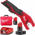 Milwaukee 2471-21 M12 Copper Tubing Cutter Kit 2 batteries 1x 6.0Ah Battery