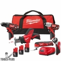 Milwaukee 2499-25P M12 Black Friday 5 pc Combo Kit