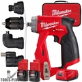 Milwaukee 2505-82 M12 FUEL Installation Drill/Driver (4-in-1) Kit