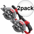 "Milwaukee 2530-20 M12 FUEL 5-3/8"" Circular Saw (Bare Tool) 2x"
