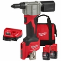 Milwaukee 2550-22 M12 Pop Rivet Tool 1.5AH 2 Battery Kit