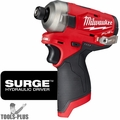 """Milwaukee 2551-80 M12 FUEL SURGE 1/4"""" Hex Hydraulic Impact (Tool Only)"""