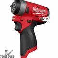 "Milwaukee 2552-20 M12 FUEL Stubby Cordless 1/4"" Impact Wrench (Tool Only)"