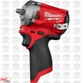 "Milwaukee 2554-20 M12 FUEL Stubby Cordless 3/8"" Impact Wrench (Tool Only)"