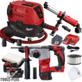 "Milwaukee 2605-22 18V M18 7/8"" SDS Plus Rotary Hammer w/HEPA Dust Extraction"