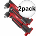 Milwaukee 2615-20 M18 Right Angle Drill (Tool Only) 2x