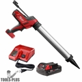 Milwaukee 2642-21CT M18 Cordless 20oz Sausage Style Caulk Adhesive Gun Kit