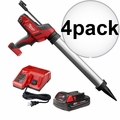 Milwaukee 2642-21CT M18 Cordless 20oz Sausage Caulk Adhesive Gun Kit 4x