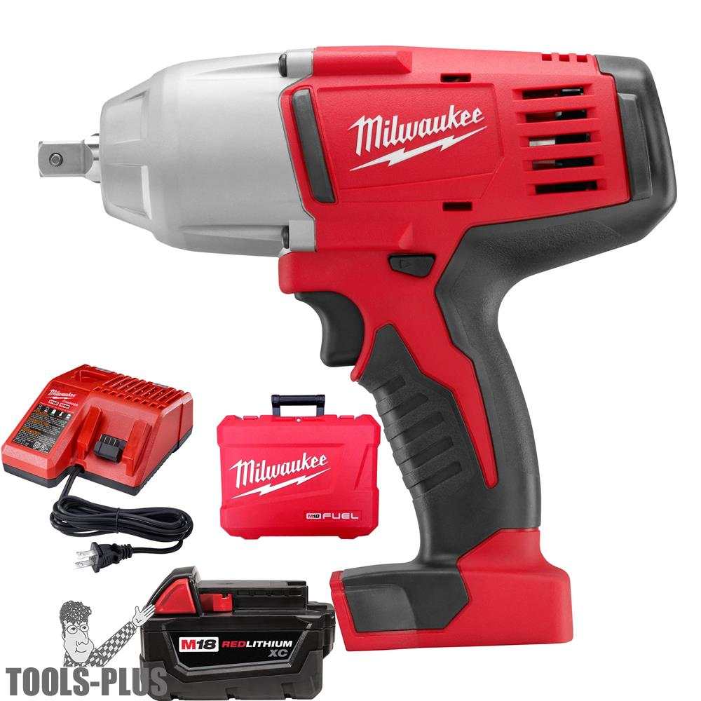 Milwaukee 2662-21 M18 1/2'' High-Torque Impact Wrench with Pin Detent Kit