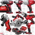 Milwaukee 2694-27 M18 Cordless LITHIUM-ION 7-Tool Combo Kit