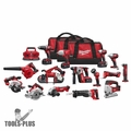 Milwaukee 2695-15 18 Volt 15 Piece Cordless Tool Combo Kit