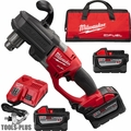 "Milwaukee 2707-22HD M18 Fuel Hawg 1/2"" Right Angle Drill 3 9.0ah Batts Kit"
